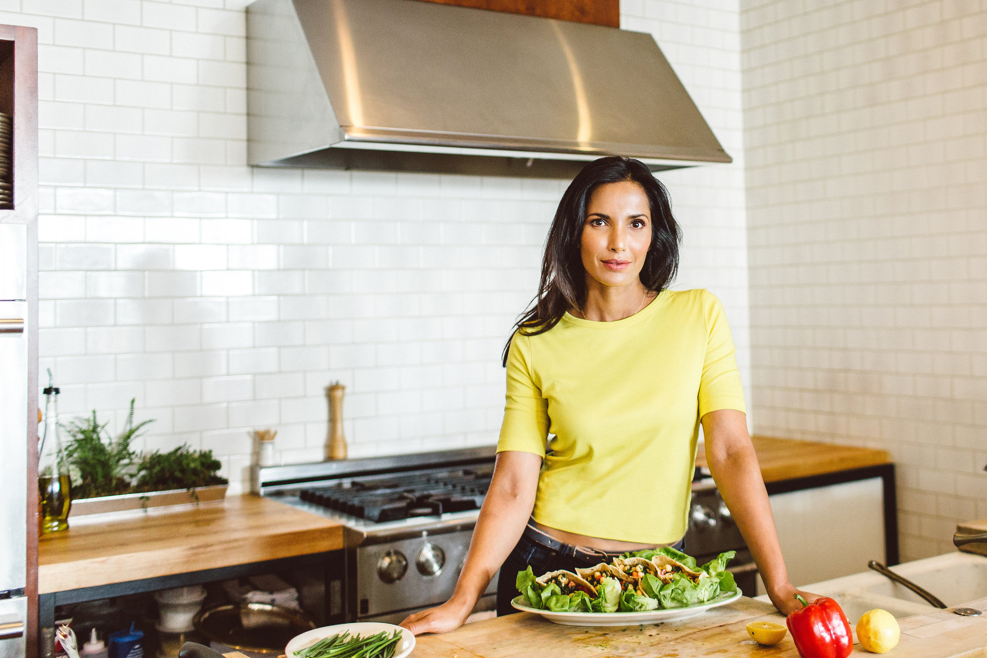 IN THE KITCHEN: PADMA LAKSHMI - Bonberi