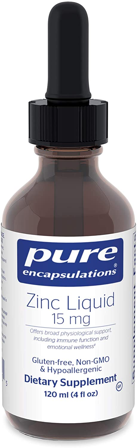 pure encapsulations liquid zinc