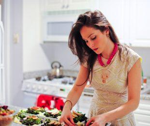 Arielle+making+salad
