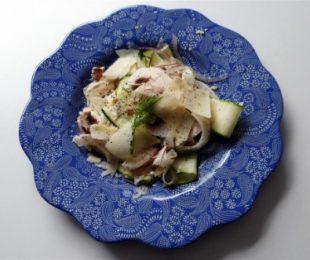 Fennel+Zucchini+salad
